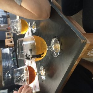 Beers at brewery in Marrickville