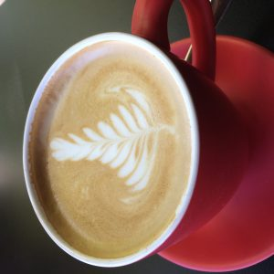 My first flat white